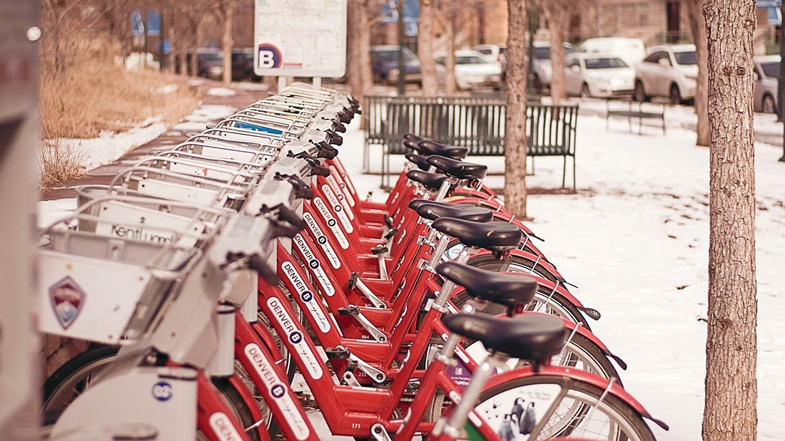Rent Station for Bicycles in Denver