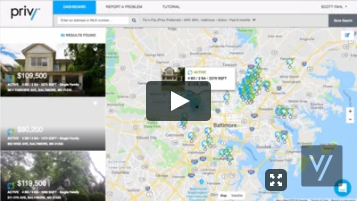 Strategy Development with Real Time Real Estate Data and Research